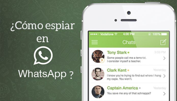Espiar WhatsApp gratis 2017 con WhatsApp Web