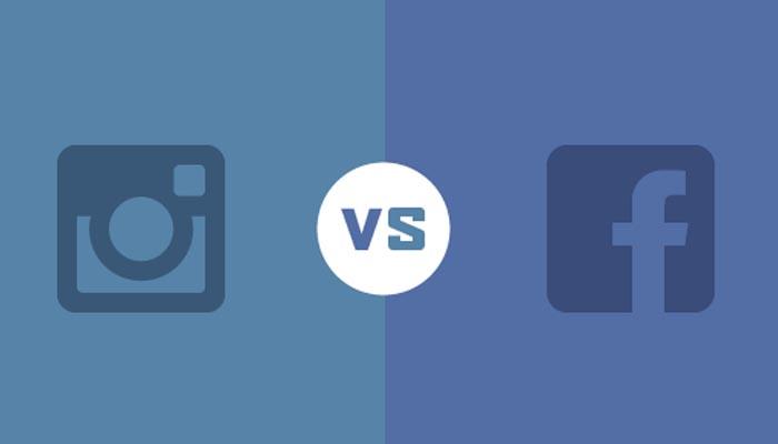 Facebook vs Instagram