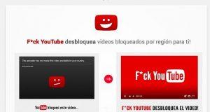 F*ck YouTube, la extensión para ver vídeos bloqueados de YouTube