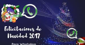 Felicitaciones de Navidad 2017 para WhatsApp 1