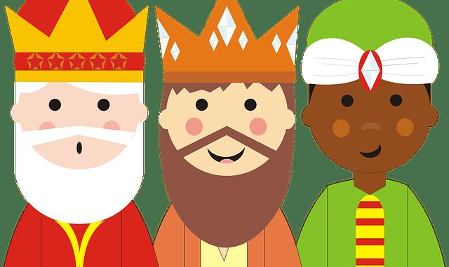 Felicitaciones de Reyes Magos para WhatsApp