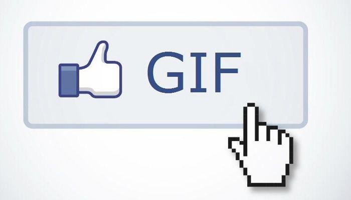 Comentar con GIF en Facebook