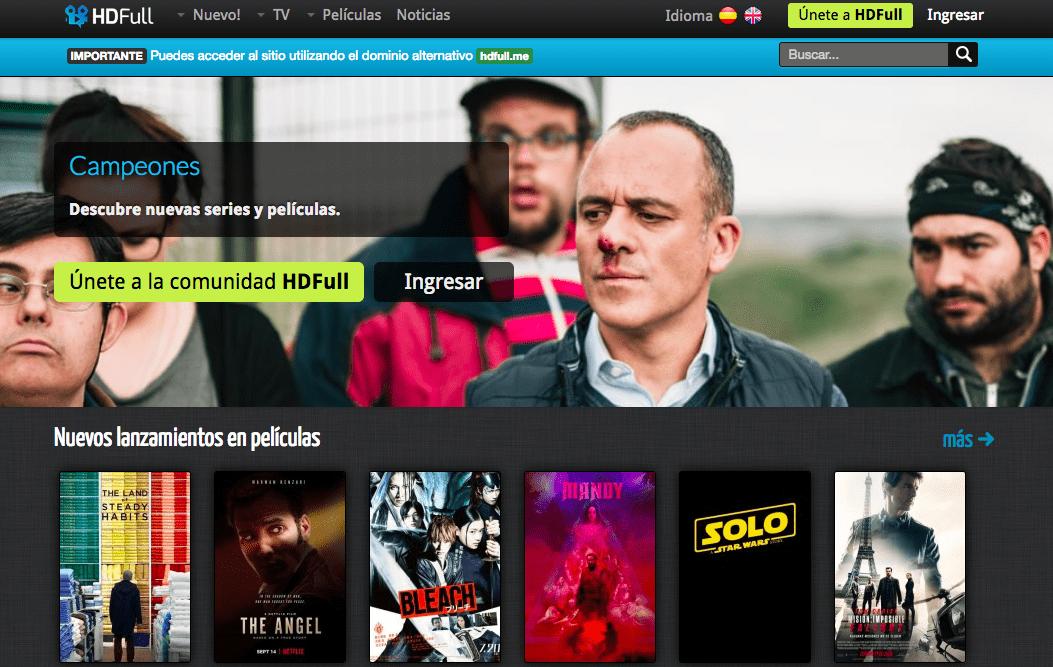 HDFull TV mejores paginas ver series online gratis