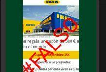Ikea no regala un cupón de 500 euros, es un bulo de WhatsApp