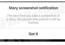 Instagram avisa de capturas de pantalla 2018