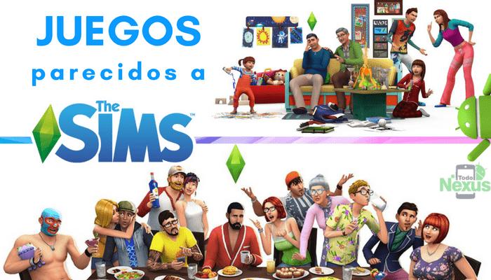 Juegos parecidos a los Sims 1