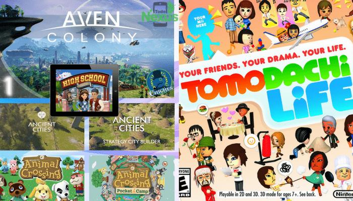 Juegos parecidos a los Sims 2