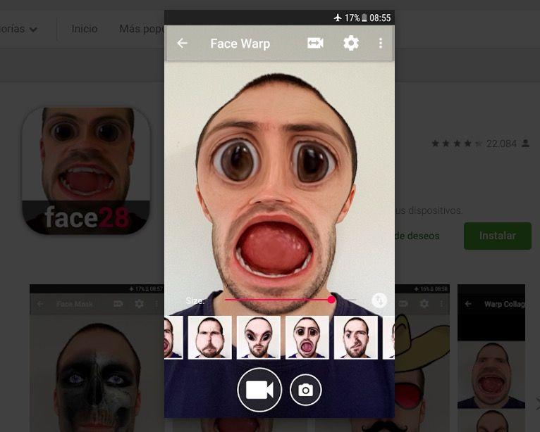La mejor aplicación para poner la boca grande en Android