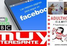 Las mejores páginas para seguir en Facebook