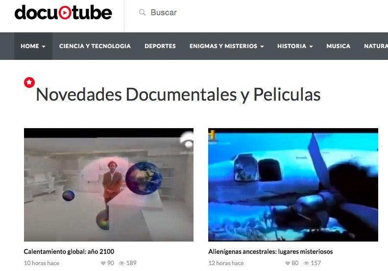 Las mejores páginas para descargar documentales gratis