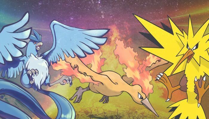 Cómo conseguir a Articuno, Moltres y Zapdos en Pokémon Go