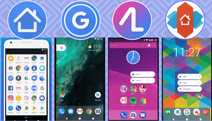 Los mejores launchers para Android 2018