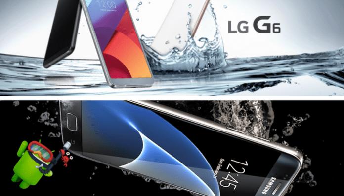 Los mejores móviles resistentes al agua 2017