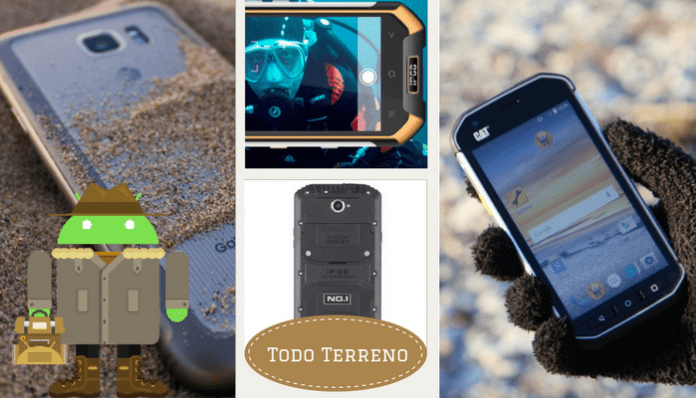 Los mejores móviles todoterreno del 2017