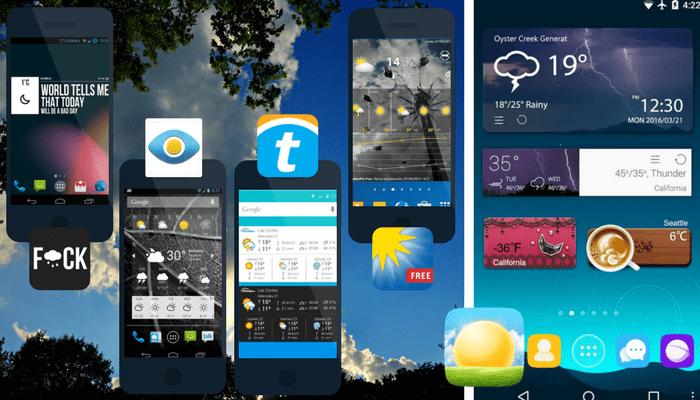 Los mejores widgets del tiempo para android gratis for Widget tiempo android