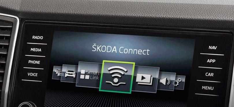 Móviles compatibles con MirrorLink Skoda