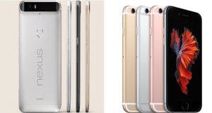 Nexus 6P vs iPhone 6s Plus