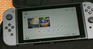 Nintendo Switch es táctil
