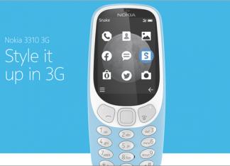 Nokia 3310 3G: Características, lanzamiento y precio