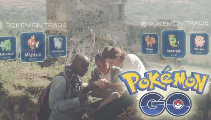 Cuando se podrá intercambiar Pokémon en Pokémon GO
