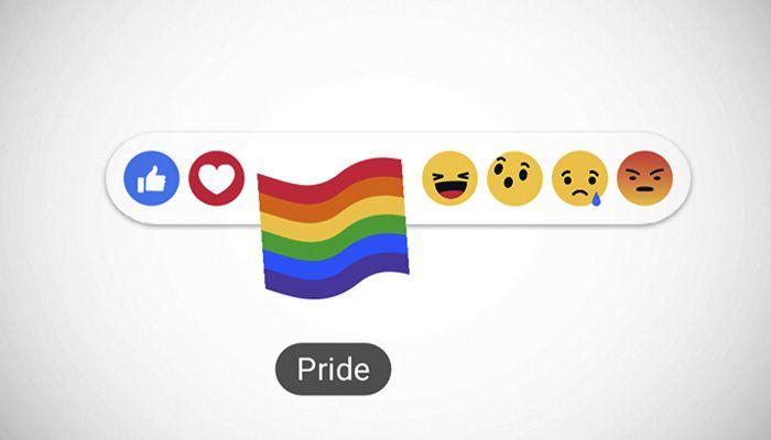 Cómo tener la reacción del arcoiris en Facebook