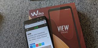 Review Wiko View Prime