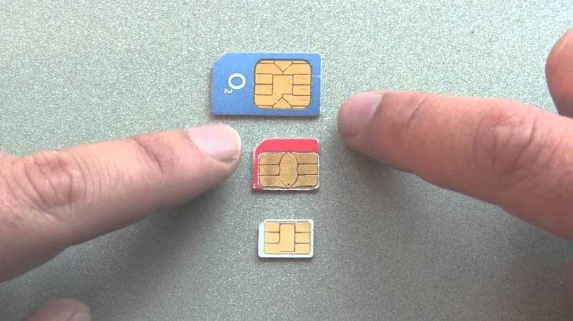 cortar una SIM a Micro SIM o Nano SIM