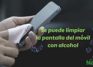Se puede limpiar la pantalla del móvil con alcohol 2