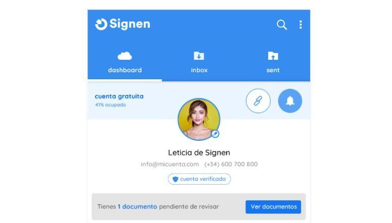 Signen la mejor aplicacion para firmar documentos en Android