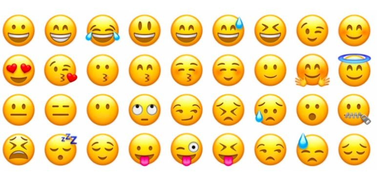 Significado de los emoticonos de WhatsApp 2018