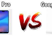 Huawei P20 Pro vs Pixel 2 XL