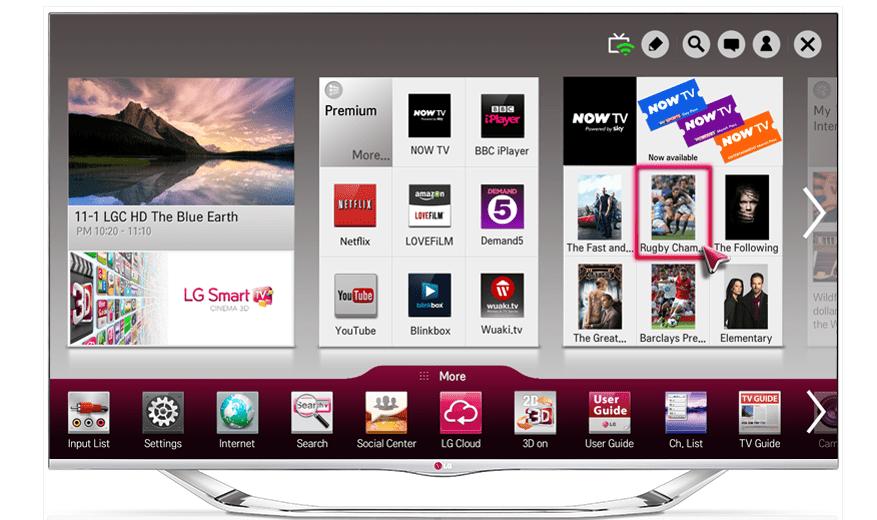 Activar menú oculto en Smart TV LG o Samsung