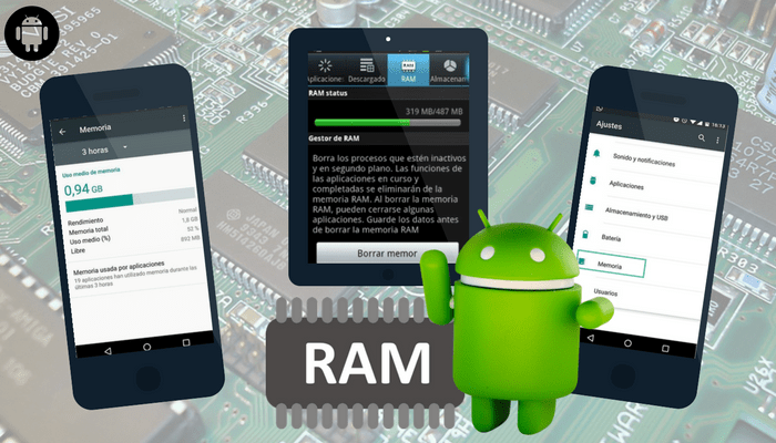 Trucos para eliminar la memoria RAM en Android