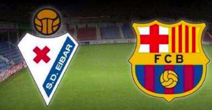 Ver Eibar vs Barcelona online y gratis