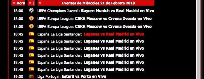 Ver Leganés Real Madrid online y gratis
