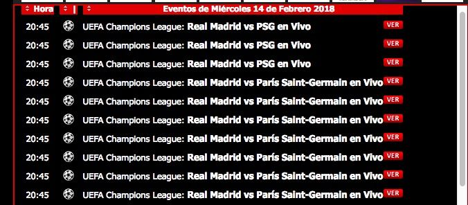 Ver Real Madrid vs PSG online y gratis