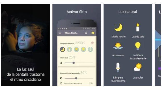 activar el modo noche en Android