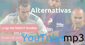 Alternativas a YouTube MP3 para convertir vídeos de YouTube