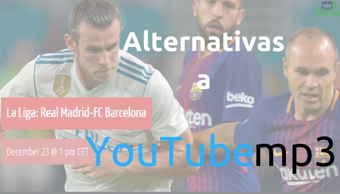 Alternativas a YouTube MP3 para convertir vídeos de YouTube