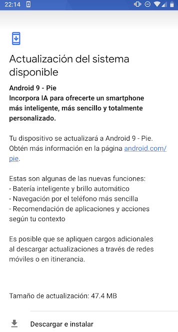 android pie nombre android 9