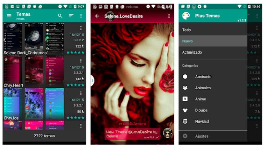 app cambiar el color de WhatsApp sin root