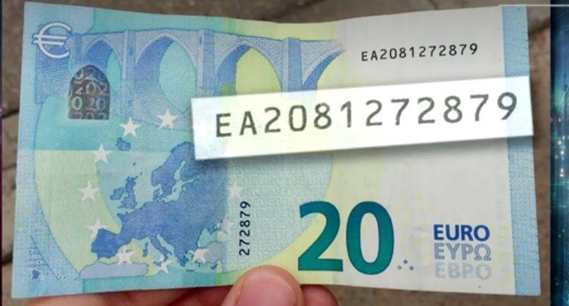 billete de 20 euros el Hormiguero