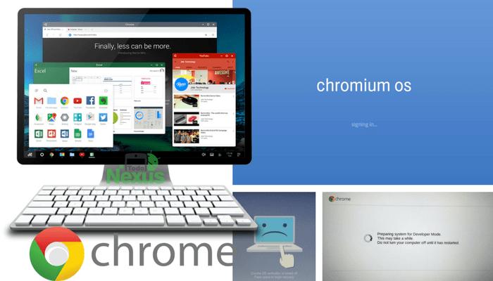cómo activar el modo desarrollador en Chrome OS 1