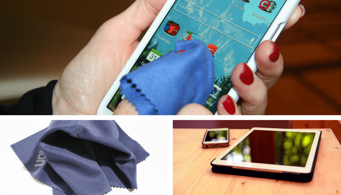 ¿Cómo limpiar la pantalla del móvil táctil?