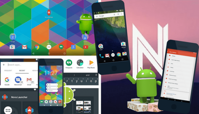 cómo tener la apariencia de Android Nougat en cualquier Android