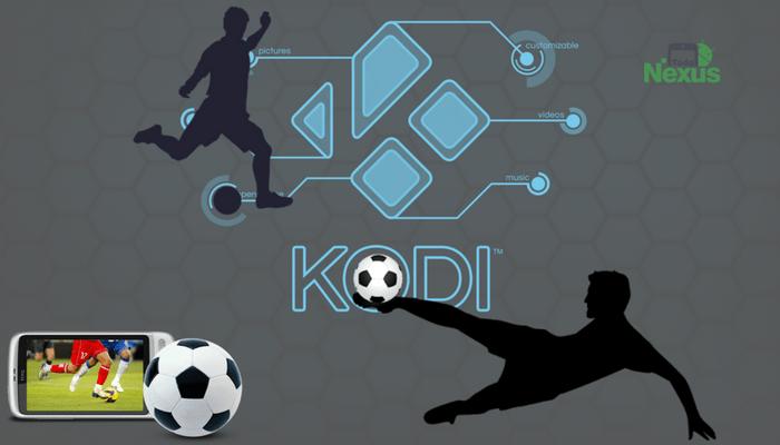 cómo ver futbol en Kodi 2