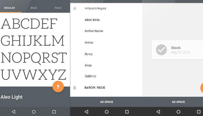 Cambiar el tipo de letra en Android sin rootear