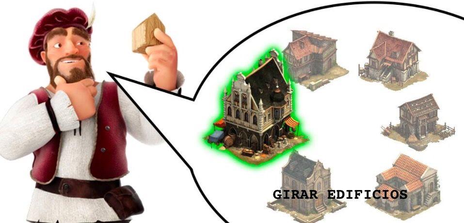 como Girar edificios en Forge of Empires