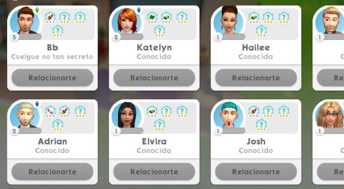 Hacer amigos en Los Sims Móvil
