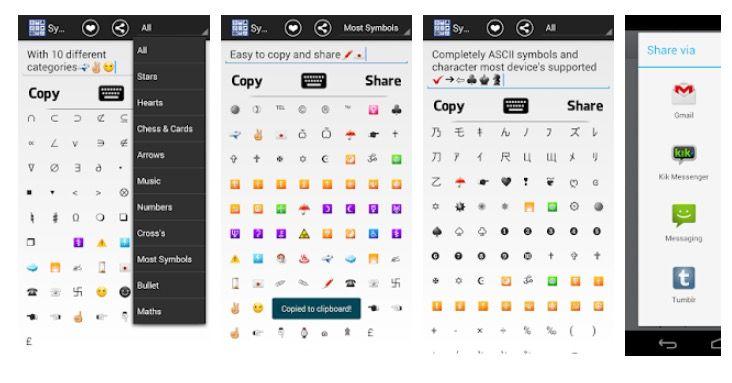 Escribir el símbolo de colones en Android